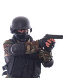Swat soldier Stock Photo