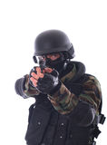 Swat soldier royalty free stock images