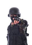Swat soldier stock photography