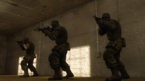 Swat squad Stock Photos