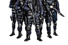 SWAT-Team Lizenzfreies Stockbild