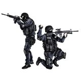 SWAT team in action Stock Image