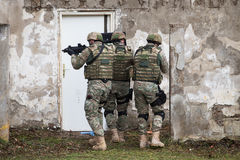 SWAT team Stock Images