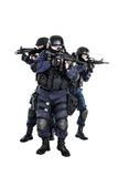 SWAT team in action Royalty Free Stock Image