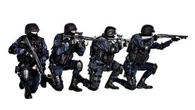 SWAT-Team in der Aktion Lizenzfreies Stockfoto