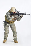 SWAT Team Officer Royalty Free Stock Photo