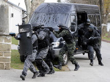 SWAT team Stock Image