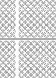 swatch αλυσίδων ανασκόπησης π&omic Στοκ Εικόνες