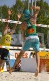 swatch της Πράγας fivb του 2008 ανοικ&tau Στοκ φωτογραφία με δικαίωμα ελεύθερης χρήσης