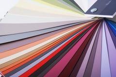 swatch χρωμάτων χρώματος Στοκ εικόνες με δικαίωμα ελεύθερης χρήσης