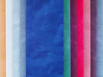 Swatch χρώματος βελούδου Στοκ Εικόνα