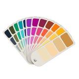 Swatch χρώματος συλλογή Στοκ Εικόνα