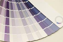 swatch χρώματος Στοκ Εικόνα