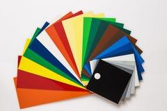 Swatch χρώματος Στοκ φωτογραφία με δικαίωμα ελεύθερης χρήσης