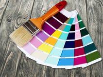 Swatch χρώματος Στοκ εικόνα με δικαίωμα ελεύθερης χρήσης