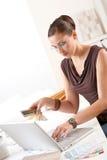 swatch женщины конструктора цвета сь Стоковые Фото