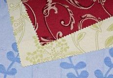 swatch ткани Стоковое фото RF
