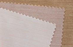 swatch ткани Стоковые Изображения