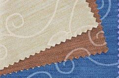 swatch ткани Стоковая Фотография