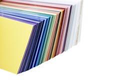 swatch цвета Стоковые Фотографии RF