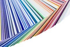 swatch цвета Стоковые Изображения RF