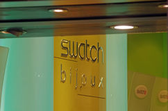 Swatch bijoux shop Royalty Free Stock Images