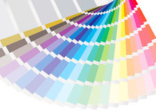 Swatch fan Stock Images
