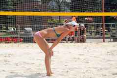 SWATCH FIVB WORLD TOUR 2011 - Moscow Grand Slam Royalty Free Stock Images