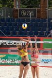 SWATCH FIVB WORLD TOUR 2011 - Moscow Grand Slam Royalty Free Stock Image