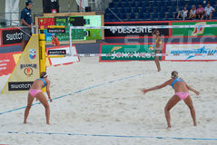 SWATCH FIVB WORLD TOUR 2011 - Moscow Grand Slam Stock Photography