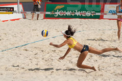SWATCH FIVB WORLD TOUR 2011 - Moscow Grand Slam Stock Photos