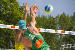 SWATCH FIVB World Tour Prague Royalty Free Stock Image