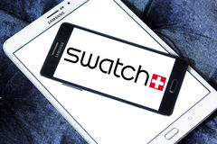 Swatch logo Stock Images