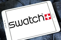 Swatch logo Stock Photos
