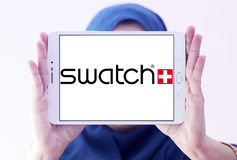 Swatch logo Royalty Free Stock Images
