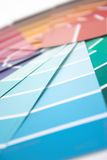 Swatch selection. Shallow depth of field royalty free stock photo
