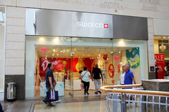 Swatch Shop Stock Photography