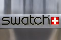 Swatch store Royalty Free Stock Image