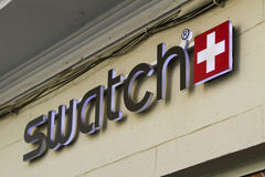 Swatch store Stock Photography