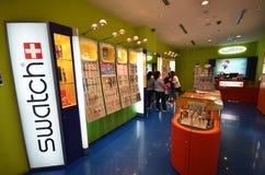 Swatch store in Kota Kinabalu Royalty Free Stock Photo