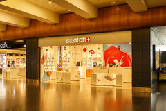 Swatch Store Royalty Free Stock Photography