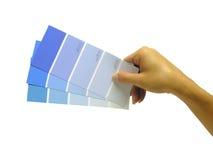 swatches χρωμάτων Στοκ Εικόνες