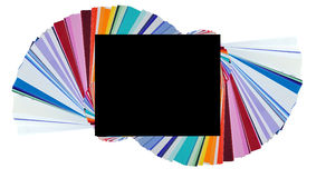 swatches χρώματος Στοκ Εικόνες
