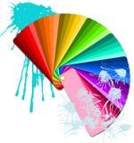 swatches χρώματος διανυσματική απεικόνιση