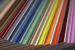 swatches цвета Стоковые Фотографии RF
