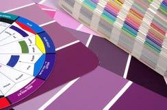 swatches цвета стоковое изображение rf