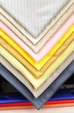 Swatches de matéria têxtil imagem de stock royalty free