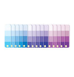 Swatches with tints in row  vector Stock Images