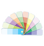 Swatches with tints  vector Stock Photography