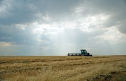 Swather 1 Royalty Free Stock Image